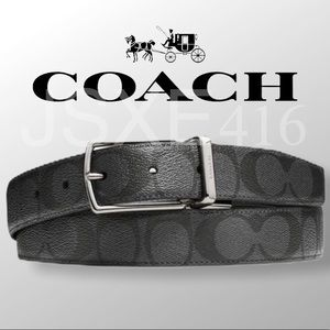 NWT - Coach Reversible Belt in Signature Canvas